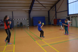Handballwoche in der KiSS